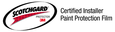 Certified 3M Scotchguard Paint Protection Film Installer
